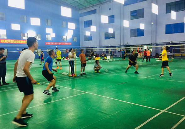 Badminton competition